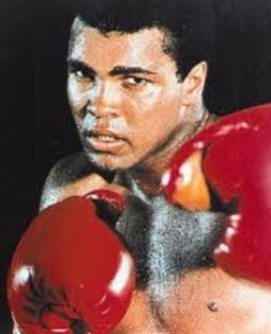 The young Cassius Clay
