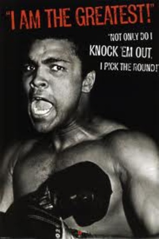 At this time the youngest boxing champion ever to win over the reigning champ