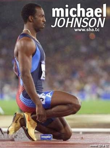 Michael Johnson earlier Track and Field career