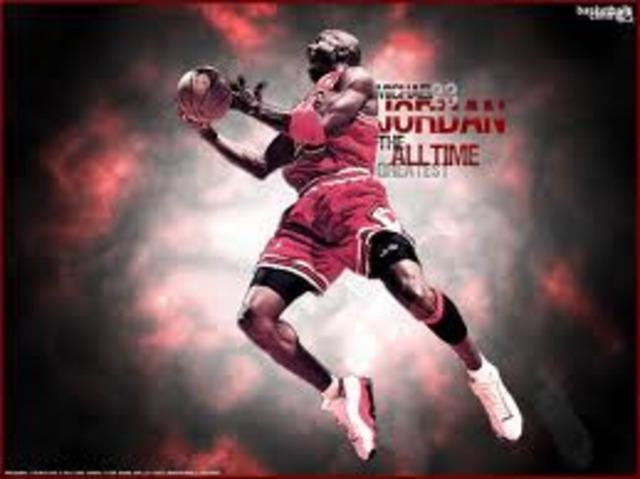 Jordan early years in the NBA