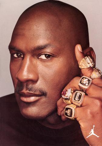 Michael Jordan in the 90's
