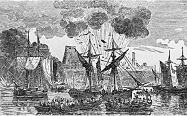 Battle of fort Frontenac