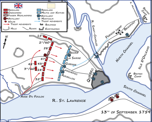 Before the battle for Quebec