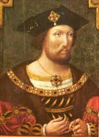 Henry VII died