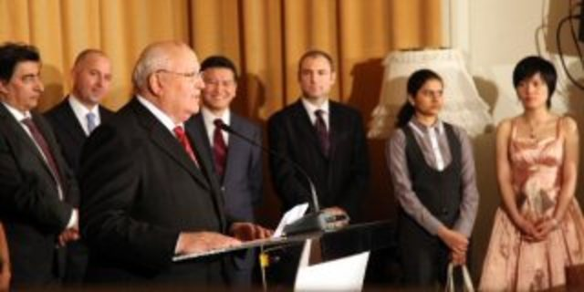 A Meeting with Mr. Gorbachev
