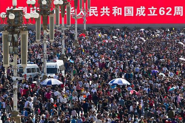 A Two-milion Beijing Crowd?