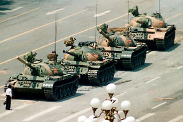 One Hope, One Dream, One, Tank Man