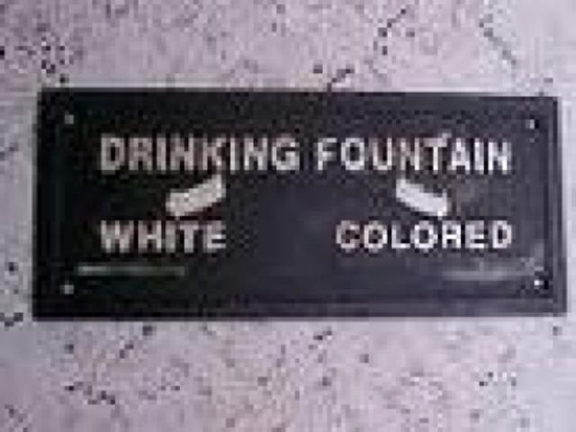 Black Segregation Promoted