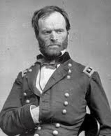 William T. Sherman Born