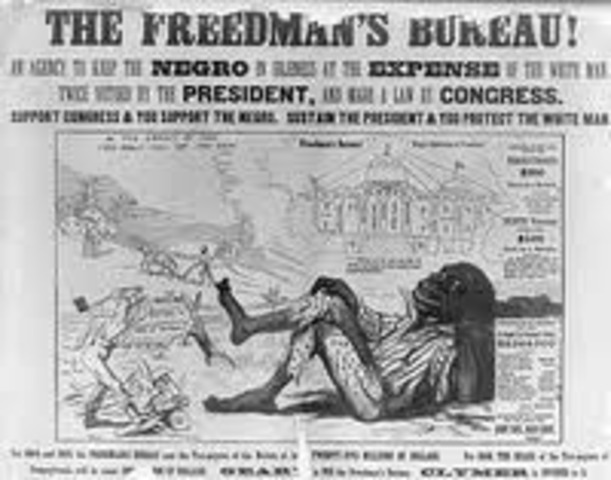 Freedman's Bureau Formed