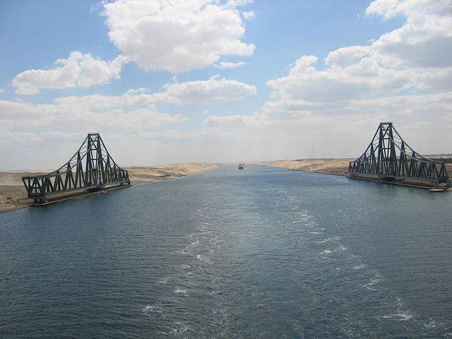 Opening van het Suezkanaal