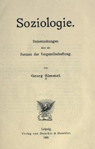 Soziologie (Simmel)