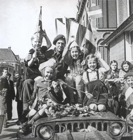 Bevrijding van Nederland/einde WO2
