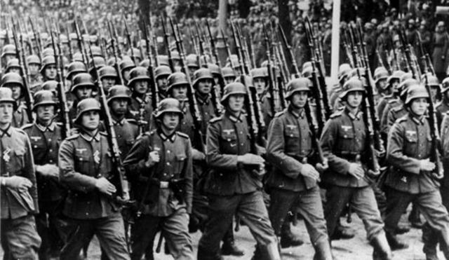 Begin tweede wereld oorlog