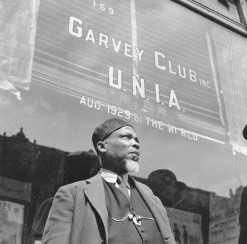 Establishment of the Universal Negro Improvement Association