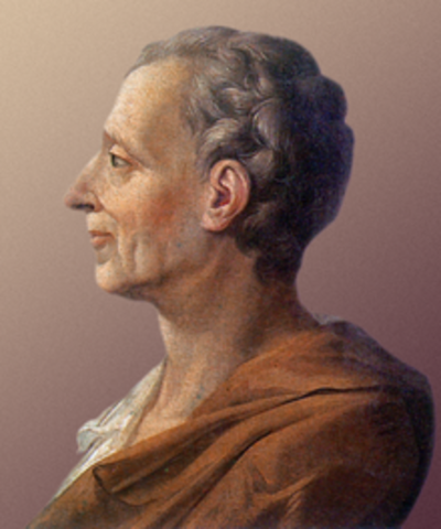 Charles Louis de Secondat, Señor de la Brède y Barón de Montesquieu