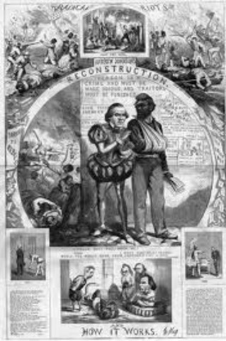 Presidential Reconstruction Movement Ends