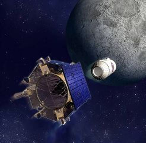 LCROSS Orbiter and Impactor