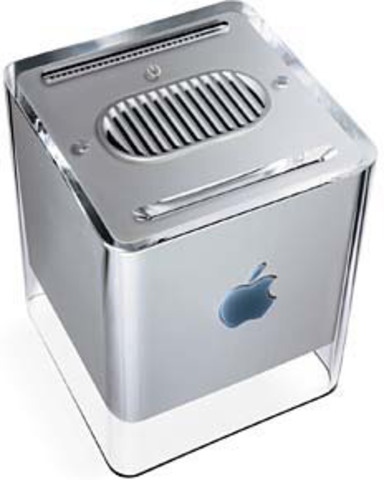The PowerBook G4 Cube