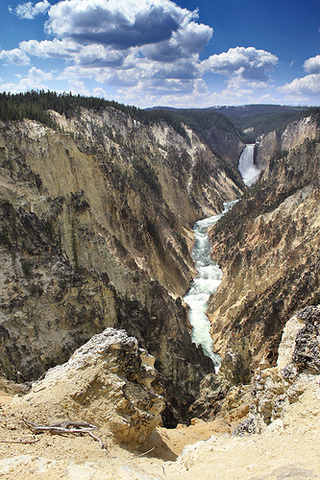 L & C reach Yellowstone Park
