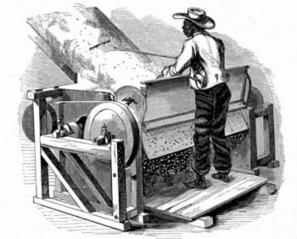 The Invention Of the Cotton Gin (increased need for slavery)