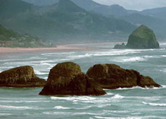 Pacific Ocean viewed