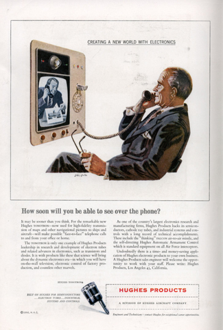 The first video phone