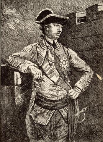 General Howe lands