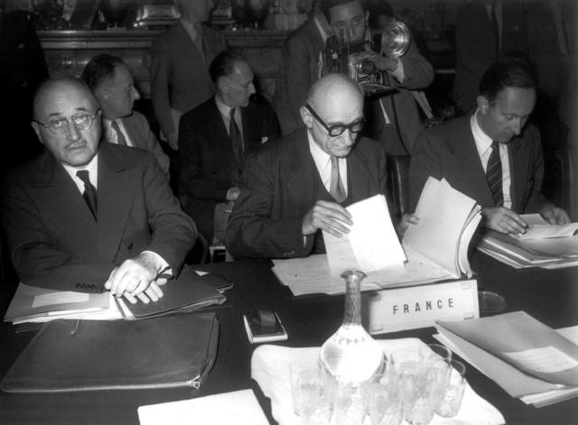 Het verdrag Schuman