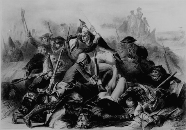 Capturing Fort Mifflin