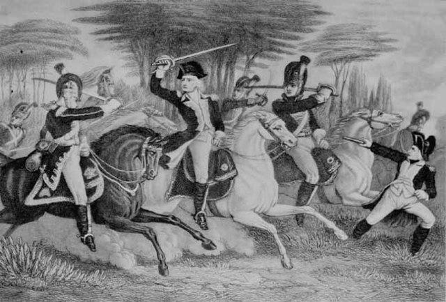 British crushed Americans