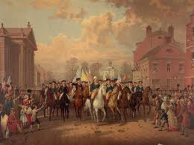 British troops leave