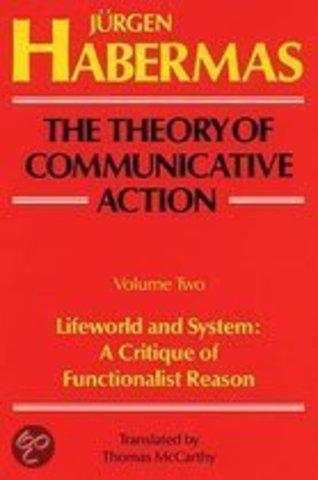 Jurgen Habermas- The Theory of Communicative Action