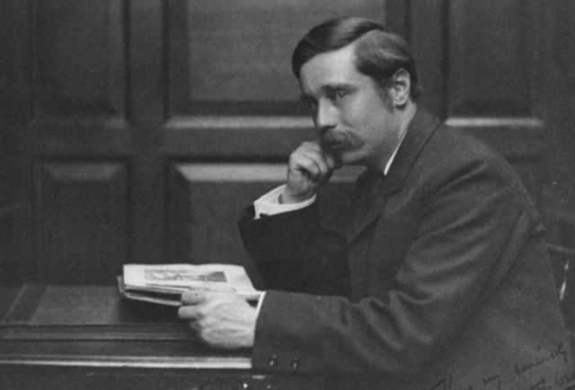 H. G. Wells becomes increasingly critical of modern government