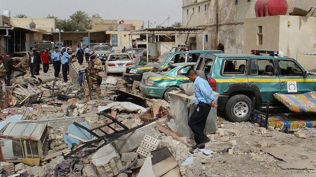 Car Bombing in Hilla, Iraq