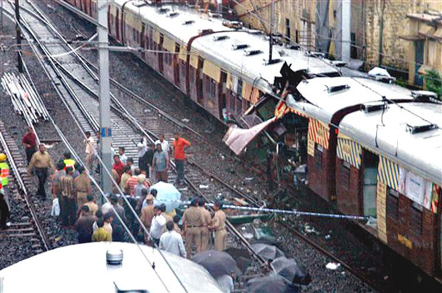 Commuter Train Bombing in Mumbai, India
