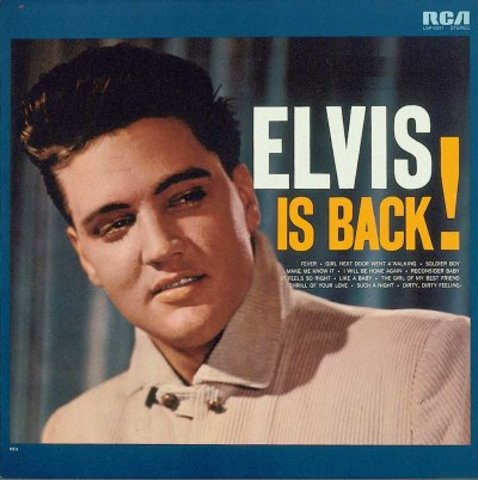 Elvis returns from the Army