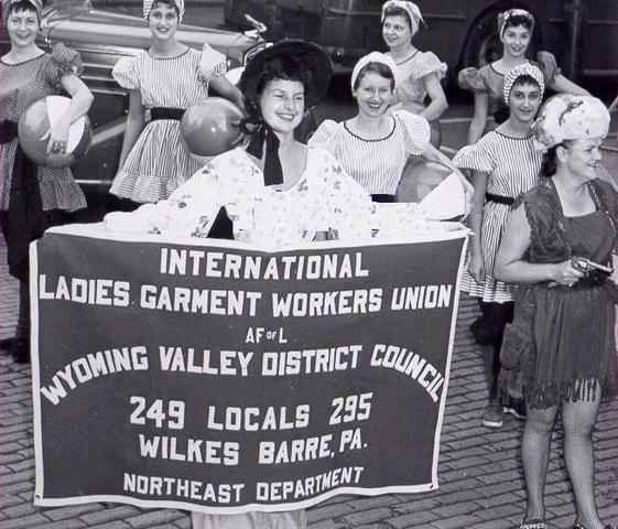 The International Ladies' Garment Workers' Union (ILGWU)