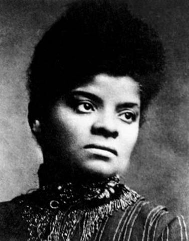 Ida Wells Barnett leads anti Lynching Campaign