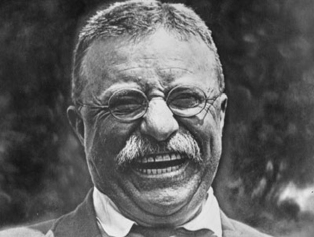 Roosevelt Supports Woman's Suffrage