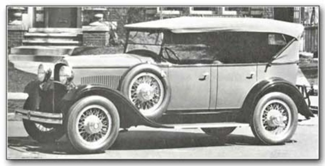1929 DODGE BROTHERS SIX, DA