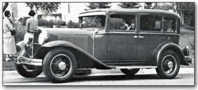 1930-1933 Dodge eight