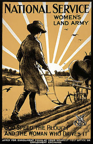 Harriot Stanton Blatch Organizes Woman's Land Army