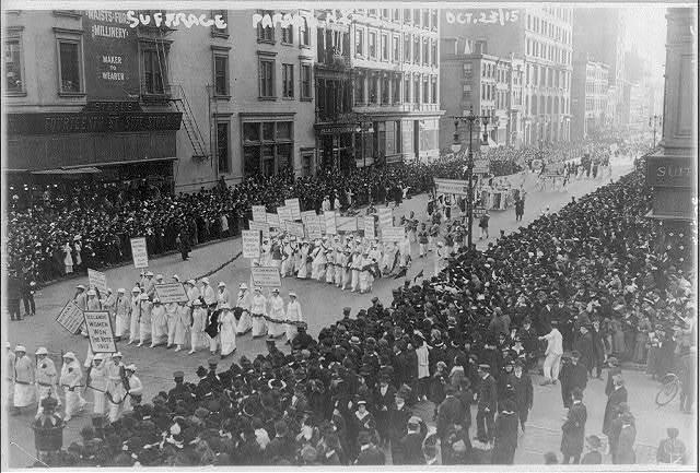 New York Suffrage Movement