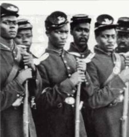54th Massachusetts Infantry at Fort Wagner