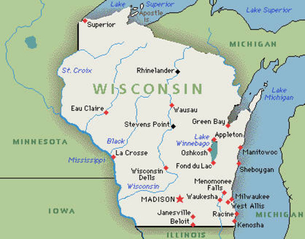 Wisconson is the first state to use a primary in voting