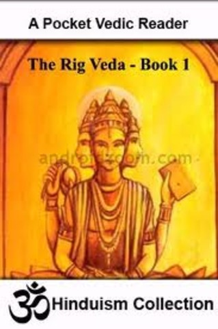 The Rigveda - the oldest texts in any Indo-European language. 1700–1100 BC