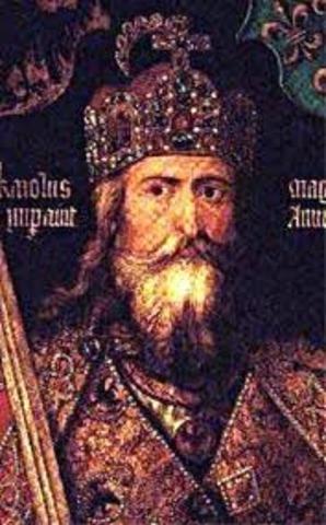 Charlemagne 742-814 Christian Emperor of the Franks