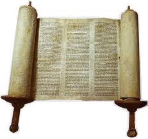 The Torah (600 BCE - 400 BCE)