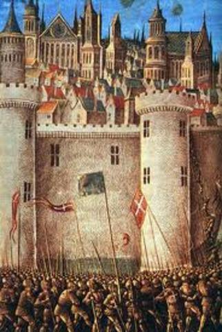 First Crusade 1095–1099